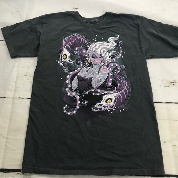 Tee Fury Tops Teefury Punk Ursula Eels Cotton Unisex Tshirt Poshmark
